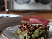 Crumble ultra croquant rhubarbe sarrasin