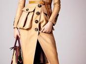 chic trench coat collection Burberry Prorsum Croisière....