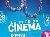 30ème édition Fête Cinéma aura lieu dimanche juin mercredi juillet 2014 #Feteducinema