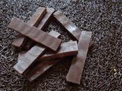 Barres chocolat maison