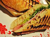 Sandwich jambon fumé, mayo l'érable pommes, version paninis pour emporter
