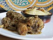 Tajine poulet Gratin pommes terre façon dauphinois