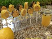 Sucettes crêpes lemon curd