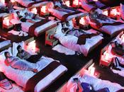 Evasion cinéma équipé vrais lits