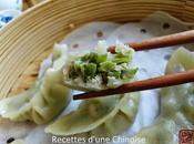 Raviolis vapeur haricots plats 扁豆蒸饺 biǎndòu zhēngjiǎo