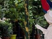 majesté Reine Elisabeth inaugure marché fleurs Paris