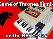 L'incroyable remix musique Game Thrones (keytar NES)
