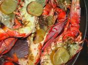 Repas d'anniversaire.... Bollinger s'invite, avant première d'un Hermitage homards cuits sarments