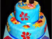 Wedding cake plage