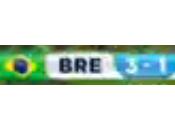 COUPE MONDE 2014. Ouverture: Brésil Croatie match tatillon l'équipe Auriverde