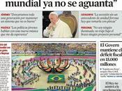 L'interview Pape argentin Vanguardia passe inaperçue Buenos Aires [Actu]