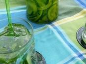 Detox water concombre/menthe