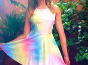Shine sleevless dress