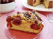 Cake cerise pistache citron