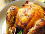 p'tit poulet poulette Tome Poulet rôti parfumé citron, thym, l'ail paprika