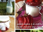 Yaourt maison confiture fraises poivre long d'Indonésie Nathalie