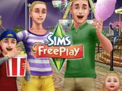 fête foraine débarque dans ville Sims FreePlay