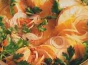 Queues langouste façon Thaï salade