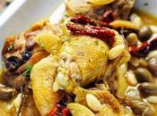 p'tit poulet poulette Tome Fricassée amandes tomates confites