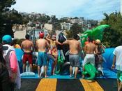 toboggan aquatique géant dans Francisco
