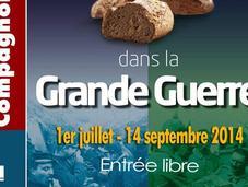 Exposition pain dans Grande Guerre Musée Compagnonnage Tours, juillet septembre 2014.