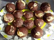 Muffins marbrés lben (lait fermenté)