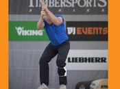 ANDREAS STIHL Gilles GIGUET, quintuple champion France Stihl Timbersports, animera stage bûcheronnage sportif France, samedi juin 2014 d'Etampes