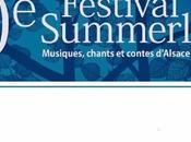 Festival Summerlied scène Clairière fait place rencontres
