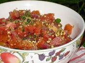 Tomates Marmande Coriandre Pistaches