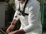 Rafael Nadal fait rebondir fois balle tranche raquette
