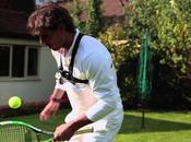 Rafael Nadal, champion jongle avec raquette