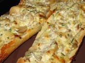 Tartines champignons