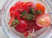 Tamatar katchumbar salade tomates sans huile vinaigre vinegar-free salad