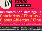 Première rencontre internationale tango pour musiciens para Memoria Haroldo Conti l'affiche]