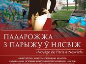 "Biélorussie: exposition performance artistique interaction, ""Voyage Paris Nesvizh"""