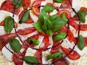 Tomate-mozzarella basilic