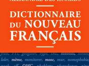 """couvre """"nouveau français"""" dico"""