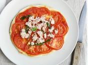 Tarte fine tomate, thon basilic