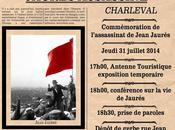 Demain Charleval, commémoration centenaire l'assassinat Jean Jaurès