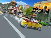 départ pour Crazy Taxi: City Rush iPhone iPad