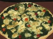 Pizza épinards feta