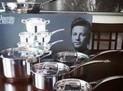 Jamie Oliver dans cuisine grâce T-Fal