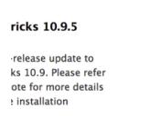 10.9.5 bêta Safari 7.0.6/6.0.6 disponibles