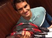 Découvrez nouvelle raquette Roger Federer