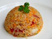 Salade quinoa lentilles corail