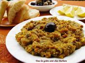 Zaalouk (caviar d'aubergines marocaine)