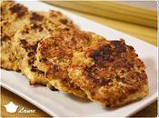 Galettes quinoa courgettes