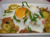 Cassolette d'oeuf légumes curcuma