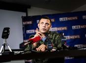 """UKRAINE. Zakharchenko: """"Une colonne blindée russe avec 1200 combattants route pour Donetsk"""""""