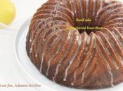 Bundt cake chocolat blanc citron rhum....